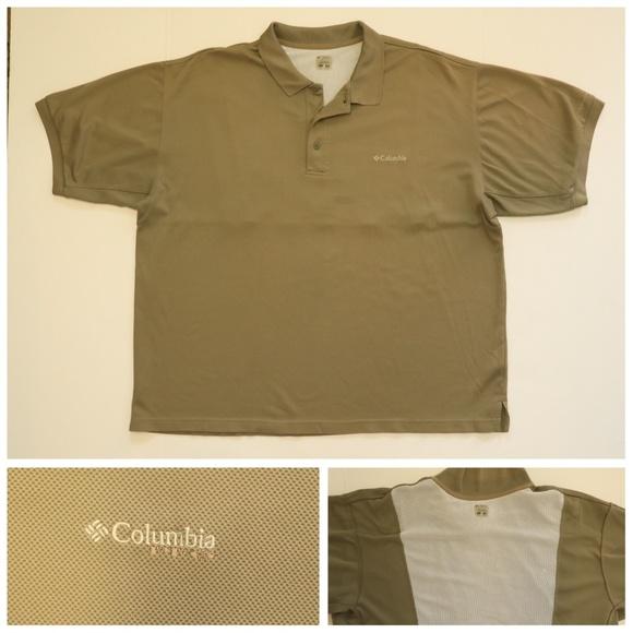 09b90d24b90 Columbia Shirts | Pfg Omnishade Polo Vented Fishing Netted | Poshmark